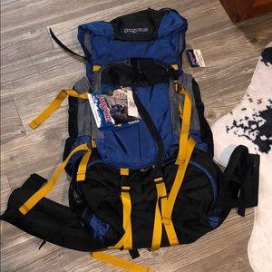 NWT Jansport Alaska Tall Hiking Backpack 🏔